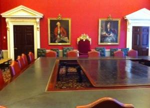 The old Treasury Board Room, 70 Whitehall