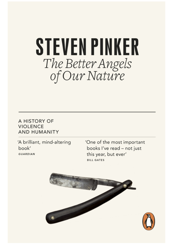 Steven Pinker, the decline in violence, and the role ofintegrity