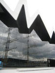 Exterior view of the Riverside Museum in Glasgow